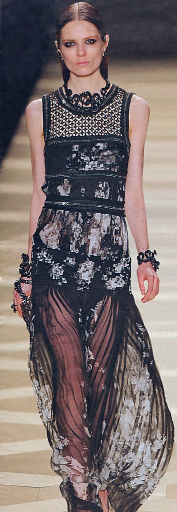 Vestido de Roberto Cavalli