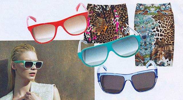 Óculos coloridos