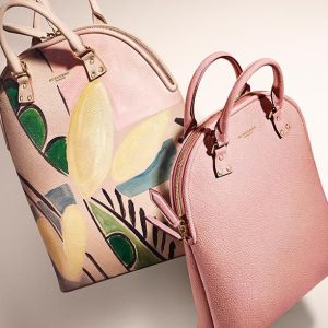 The new runway bag from Burberry .